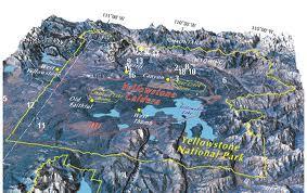 Délimitation géographique de la caldéra./ Geographic  limit of the caldera./ Delimitacion geografica de la cadera.
