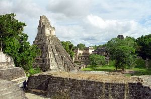 La cité de Tikal.
