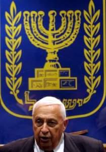 Le boucher sioniste Ariel Sharon...un protégé des impérialistes américains et un fier criminel .