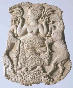 Asherah', la Cybèle mésopotamienne,  épouse de Yahvé