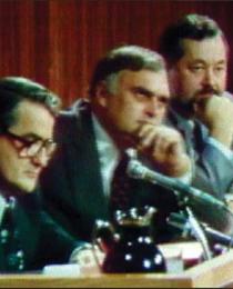 La Commission d'Enquête sur le Crime Organisé ,présidé par le juge René Dutil,prouvera  que presque tout le monde a mangé de la charogne et que la mafia est toute puissante au Québec.