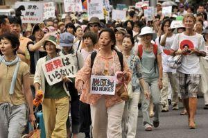Pourtant,le 19 septembre 2011,des milliers de personnes manifestaient contre le nucléaire ,à Tokyo.La propagande  de l'économie néolibérale fasciste aura pris le dessus.