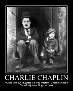 Charlie Chaplin Laughter Quote