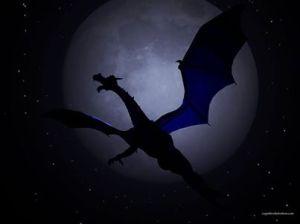 Irlande-Les Annales de l'Ulster parlent qu'en 748 AD,les gens pouvaient apercevoir  des dragons  volant dans les cieux.