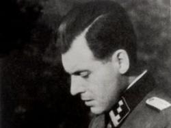 """Joseph Mengele,surnommé """"L'Ange de la Mort"""" par la propagande alliée."""