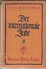 Preuve du soutient d'Henry Ford au mouvement nazi:ce petit livre très anti-sémite imprimé en allemand.