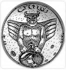 Symbolisme satanique et logo de la société DHvSS.