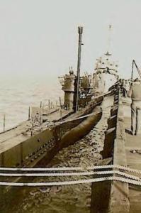 Le 10 juillet 1945,le U-977 se rendait à...Mar del Plata ,ArgentineIl était désarmé,avec un équipage réduit.