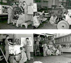 Même dans les pires moments de la guerre,Opel n'a jamais manqué de rien : d'argent,de matériel ...et de travailleurs.