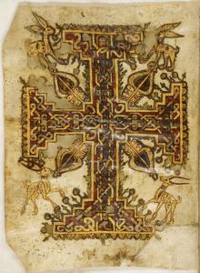 Un détail du manuscrit.