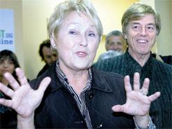 Pauline Marois et Claude Blanchet ...il y a presque 4 ans.