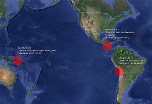Activité tectonique du 11 avril 2014