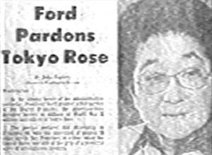 Le pardon de Gérald Ford en 1977.