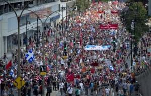 Manifestation étudiante 22 juillet 2012
