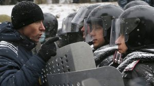 ukraine-protest-in centerof Kiev