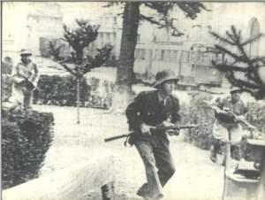 L'attaque des militaires.