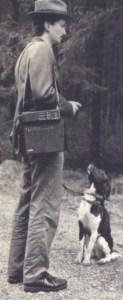 Photo d'époque sur le dressage à la fameuse école allemande.On cherchait la mobilité.