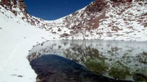 6-Le lac volcanique  des Cieux (ou du ciel ) ,frontière de la  chine communiste et de la corée du Nord.