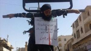 Récemment à Mossoul,une ville de l'Irak envahie par  l'ISIS,tous les chrétiens qui ont été fait prisonniers ont été crucifiés dans les rues...dans l'indifférence de Washington qui  vient de règlementé  l'immigration des chrétiens sur son territoire,mais pas les islamistes.