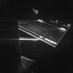 Une photo  unique ,sans précédent dans l'histoire de l'astronautique.