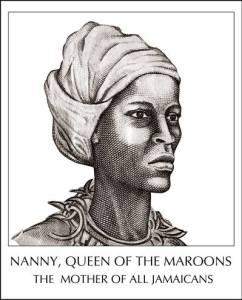 Autre dessin à main levée de Queen nanny.