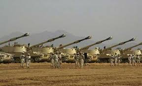 Pendant ce temps-là,l'Arabie Saoudite prépare une offensive terrestre.