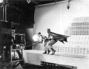 En 1966,on tournait ce célèbre épisode du film Batman et Robin.