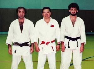 Oussama bin Laden  lors d'un entrainement de judo.
