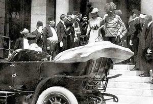 1914 Assassinat de l'archiduc François-ferdinand et de sa femme