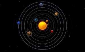 Notre système solaire.