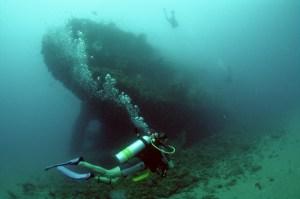 L'épave du Yongala De nombreux navires ont été perdus dans les grandes profondeurs  de l'océan, mais l'une des plongées sur épaves les plus incroyables dans le monde peuvent être trouvés au large de la côte du Queensland en Australie. Le Yongala était un bâteau à  passagers de fret à vapeur,qui a coulé en 1911, après avoir été frappé par un cyclone, qui a tué les 122 personnes à bord, ainsi que d'un cheval de course et un taureau. Le navire n'avait pas d'installations télégraphiques à bord, donc ne pouvait pas être averti de la météo horrible qui allait vers lui. Les restes du navire n'ont pas été découverts jusqu'en 1958, mais l'épave est maintenant un endroit populaire pour les plongeurs. Le Yongala est l'une des plongées d'épaves les plus populaires dans le monde, avec la chance de voir des requins taureaux et de tigre, raies manta, pieuvres et des tortues, ainsi que la belle forêt de corail qui orne le côté du bateau.
