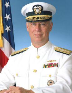 Le contre-amiral Dean Reynold Sacket,témoin de l'époque.