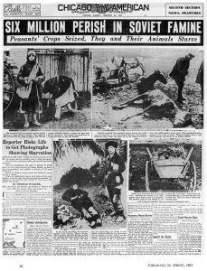 ...il y eu 6 morts à un moment donné...personne ne parle d'holocauste ukrainien.