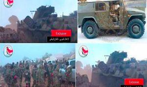 Photos très récentes montrant des soldats russes travaillant avec leurs homologues syriens...à Lataquié.