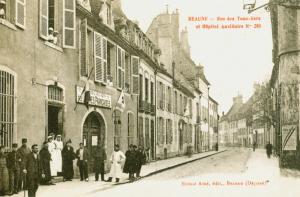 Carte postale  française 1916 Hopital auxilliaire