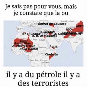 Pétrole et terroristes