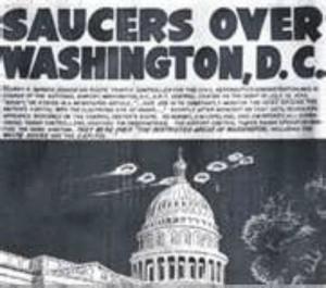 La une du journal de Washington du 29 juillet 1952.