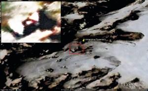 Voici ce que Google Earth permet de voir sur cette pyramide. Il ne s'agit que d'y aller.