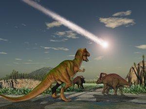 Chicxulub entrant dans l'athmosphère:il y a 65 millions d'années!