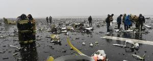 Une multitude de débris jonchaient le sol.