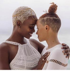 L'amour de deux femmes en Afrique...