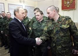 L'Armée Russe est unie derrière Vladimir Poutine,contrairement à Obama.