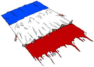 France morts