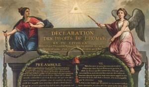 Déclaration Universelle des Droits de l'Homme et du Citoyen...une vision franc-maçonne.