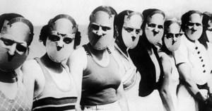 Concours Miss Beaux Yeux de Floride en 1930