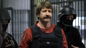 Victor Bout lors de son arrestation.