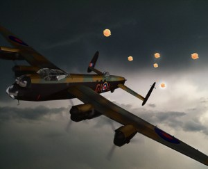 De nombreux rapports d'ovni furent transmis lors des bombardements au dessus de l'Allemagne par les pilotes alliés.