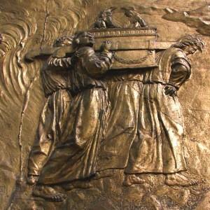 Gravure représentant l'Arche d'Alliance.