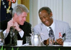 Bill Clinton et Bill Cosby:2 grands pédophiles.