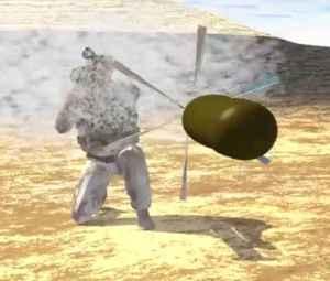 """Le Mahem DARPA Ennemis orientés vers le bas un dispositif qui blastes flux de métal en fusion ne seront probablement pas supporter beaucoup de chance. Cette idée, popularisée dans les romans de science-fiction tels que Arthur C. Clarke """"Earthlight"""" (1955), peut devenir de vrais qu'un jour grâce au financement de l'Agence américaine Defense Advanced Research Projects (DARPA). La Munition explosive Magneto hydrodynamiques (Mahem) a été annoncé en 2008. Bien qu'aucun des mises à jour ont eu lieu pendant un certain temps, la page pour Mahem est toujours actif sur le site Web de la DARPA. Les promesses du programme «le potentiel d' une plus grande efficacité, un meilleur contrôle, et la capacité à générer et avec précision le temps de multiples jets et des fragments d'une seule charge» , avec ce que les fonctionnaires DARPA écrit est «précision de létalité."""" Mahem pourrait être déployé sur les fusées, les fonctionnaires ajoutés."""